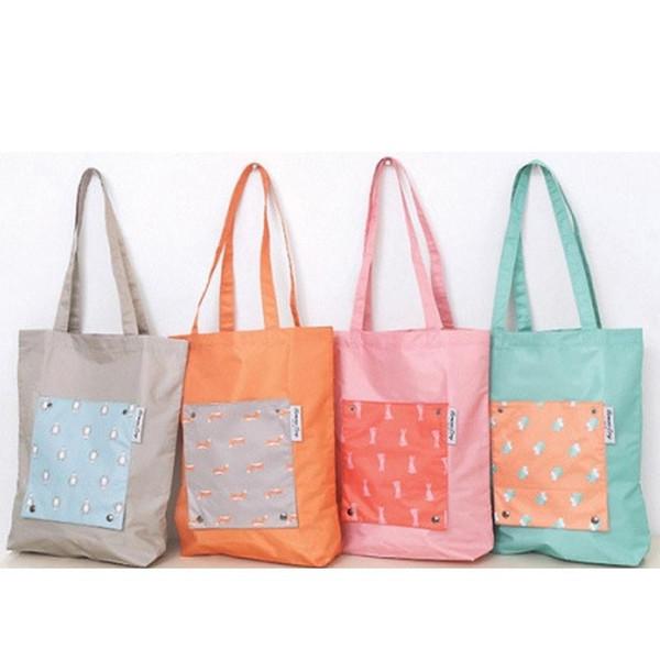 Atacado Grande Capacidade Dobrável Sacos de Compras Saco de Armazenamento Reutilizável Secagem Rápida Eco Friendly Sacos de Compras Tote Bags Ombro BC BH0550
