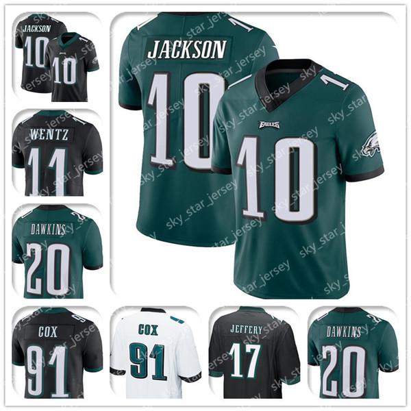 factory authentic 7cf32 7b4e9 2019 10 DeSean Jackson Jersey 11 Carson Wentz Jerseys 20 Brian Dawkins  Jersey 91 Fletcher Cox Jerseys 86 Zach Ertz 17 Alshon Jeffery From ...