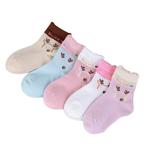 41065P 5 pares / lote crianças meias 2019 outono inverno algodão dos desenhos animados crianças meias 2 - 11 anos meninos meninas meias