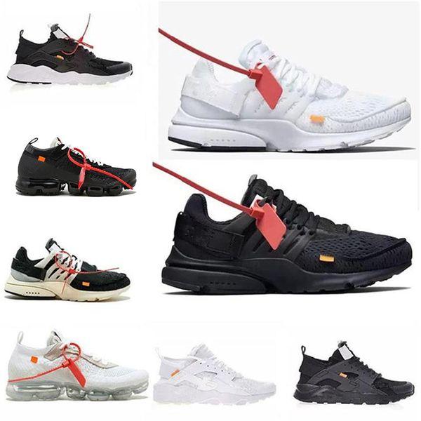 2018 Yeni Kapalı Hava Presto Kadın Erkek Beyaz Siyah 27O Huarache Sneakers Açık Spor Çocuklar Gg Rahat Ayakkabılar Boyutu 36-45