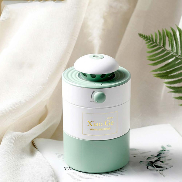 BRELONG Adjustable Humidifier With Breathing Night Light LED Indoor Bedroom Night Lamp Decorative Lights White / Pink / Green