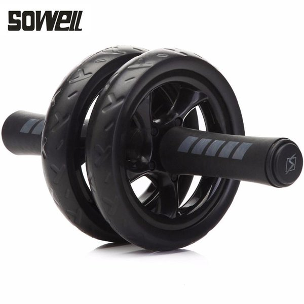 best selling No Noise Abdominal Wheel Ab Roller With Mat For Gym Exercise Fitness Equipment fitness
