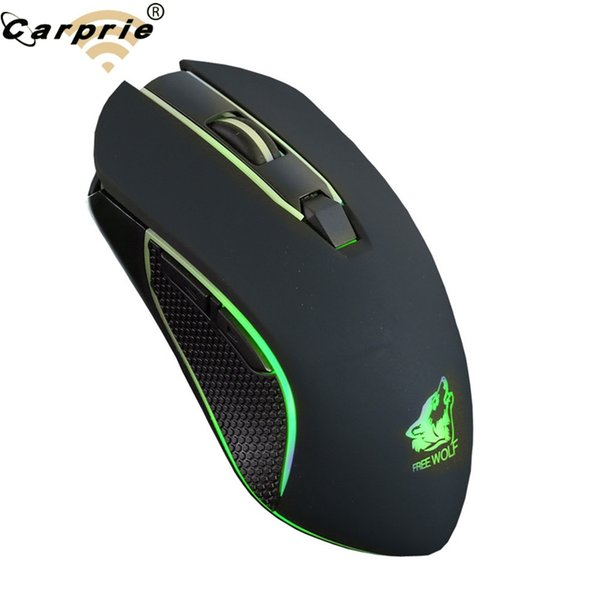 Rechargeable X9 Wireless Gaming Mouse 2400DPI Silent LED Backlit USB Optical Ergonomic Mute Mice Pro Gamer Wireless Mouse 90214
