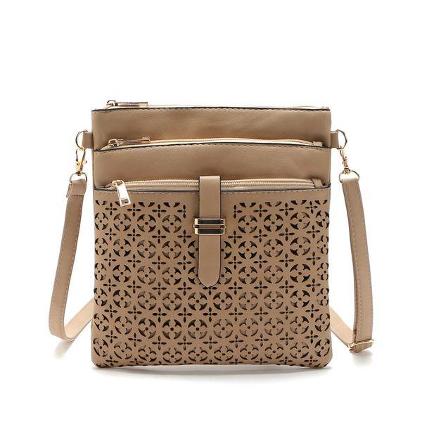 2019 Spring Fashion For Women Solid Zipper Shoulder Bag Crossbody Bag Messenger Phone Sacchetto della moneta Piccolo stile coreano Bolsas Feminina Sac A Main