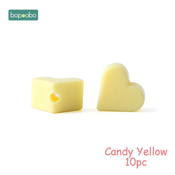 Candy Yellow Heart
