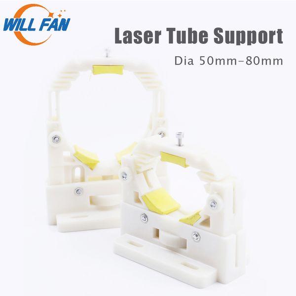 Metal Co2 Laser Tube Holder Support Mount Diameter 60//80mm for Engraving Cutting