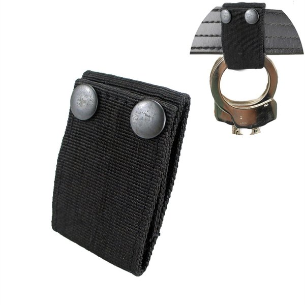 """Nylon Handcuff Strap Holder Safety Snap by Perfect Fits a 2"""" Duty Belt #85683"""