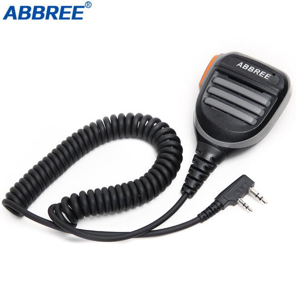 ABBREE Speaker Mic PTT Handheld Microphone For Baofeng Digital walkie talkie DM-XS DM-860 DM-X Portable CB Radio