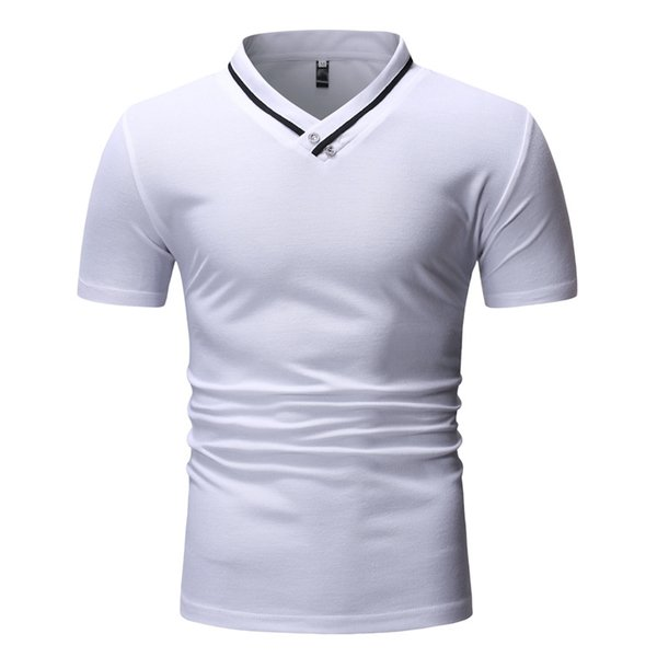2019 Summer Mens Polo Shirts Short Sleeve Solid Polo Shirts Plus Size M XXL  Tops Slim T Shirts From Tomwei, $12.19 | DHgate.Com