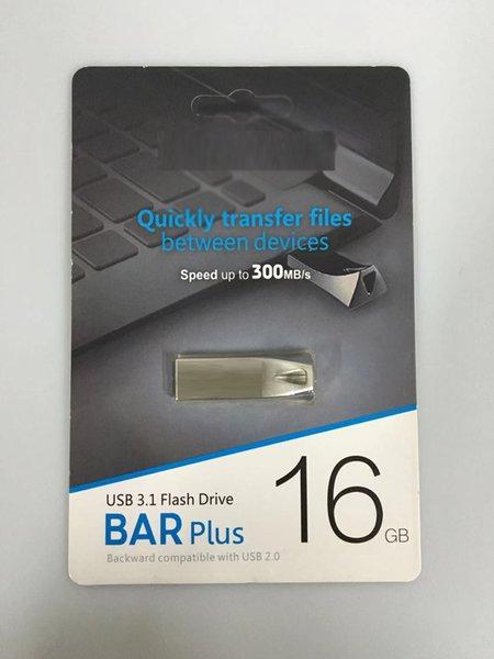 2019 new metal USB Flash Drive 16GB 32GB 64GB 128GB 256GB Memory Stick USB 3.0-2.0 U disk Drives custom Retail package free DHL