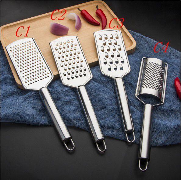 Strumento di piallatura multifunzione in acciaio inox formaggio al cioccolato limone raschietto raschietto planer pennello pulito attrezzo da cucina