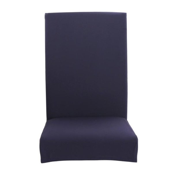 4/6pcs Pure Color Thin Stretch Chair Covers Elastic Seat Case Slipcovers