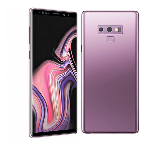 Goophone note9 Note 9 smartphones 6.3inch Curved screen with Pen 6.2inch Android 8.0 dual sim shown 128G ROM 4G LTE cell phones