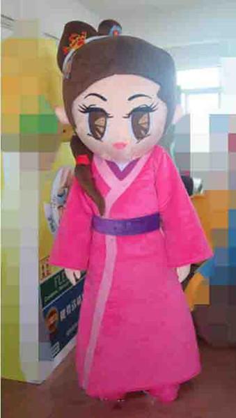 2019 Hermosa chica traje de la mascota encantadora princesa Cospaly personaje de dibujos animados adulto fiesta de Halloween disfraz de carnaval traje