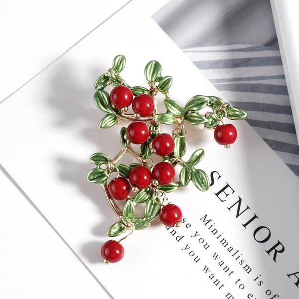 Новый элегантный шелковый шарф Пряжка Pin Кристалл брошь цветок Rhinestone Pin Свадебные невесты Подружки броши для женщин ювелирные изделия # 1204