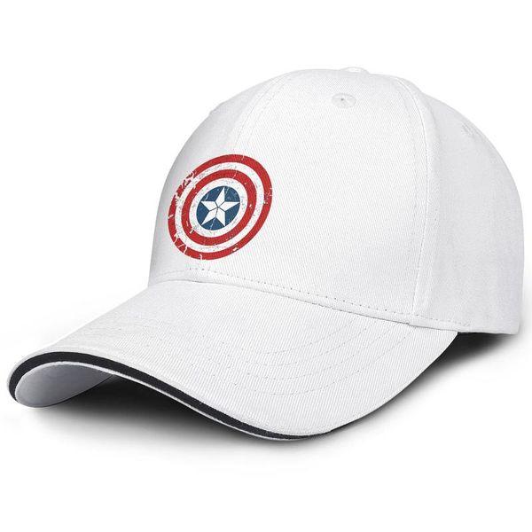 Captain america shield design Unisex Men cool Hip-hop 100% Cotton new picnic braves baseball hats