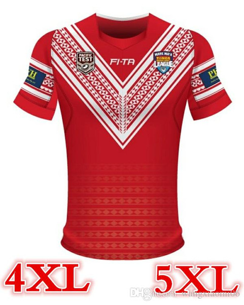 2018 TONGA RUGBY LEAGUE RUGBY JERSEY HOME RUGBY JERSEY size S-3XL Top quality free shipping
