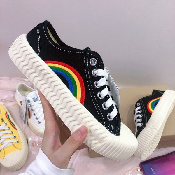 New style Fashion designer casual shoes women platform shoes versatile canvas small white shoes free epacket shipping