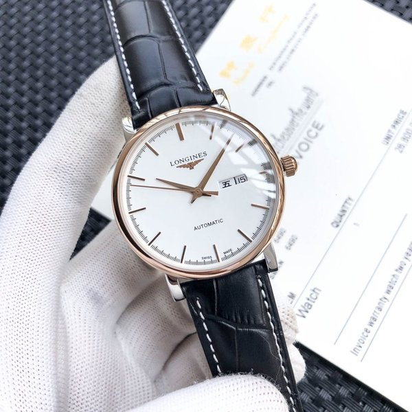 men watch high quality size 40*12 mm Wristwatches WSJ060 exquisite gift box #112043 qin3301