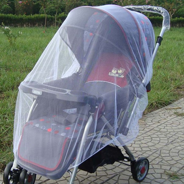 New Newborn Toddler Infant Baby Cochecito Crip Netting cochecito Mosquito Insectos Net Safe Mesh Buggy Blanco