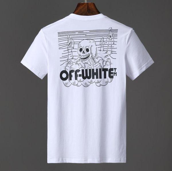 Marca para hombre Camiseta de alta calidad DESCUENTO camisetas Camisetas BLANCAS Calle hip hop Camiseta de algodón Camisetas cómodas camiseta de verano camiseta estampada