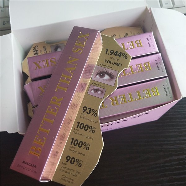 Newest Hot Faced Mascara Better Than Love Better Than sex mind--blowing lashes thick fiber long roll waterproof free shipping