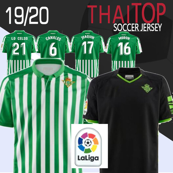 Thailand Top Adult 2019 2020 Real Betis Soccer Jersey Home 19 20 Soccer Joaquin Mandi Bartra Tello Inui Canales Football Men Jerseys Shirts Buy At The Price Of 18 69 In Dhgate Com Imall Com