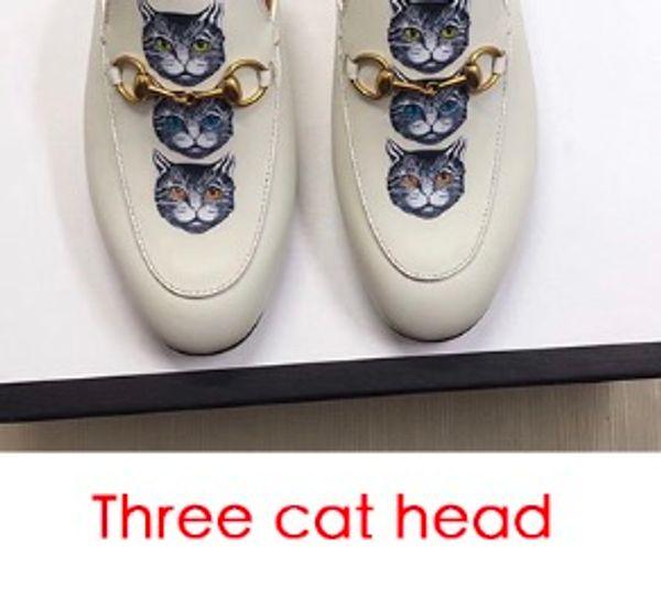 Tre testa di gatto