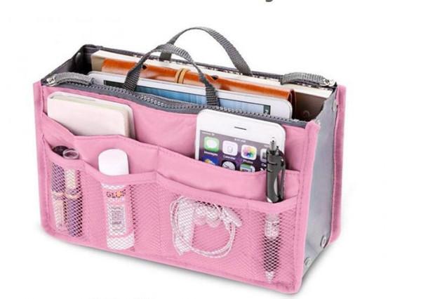 Bolso de moda para mujer en bolsas Organizador de almacenamiento cosmético Maquillaje Bolso de viaje informal