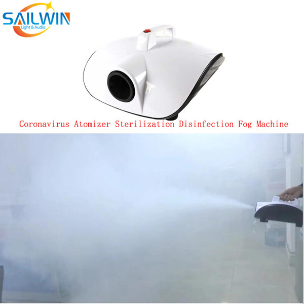 top popular 1000W Disinfection Smoke Fog Machine Atomizer Sprayer Sterilizer Disinfector Equipment For Home Party Office Event Nano Steam Gun Sprayer 2021