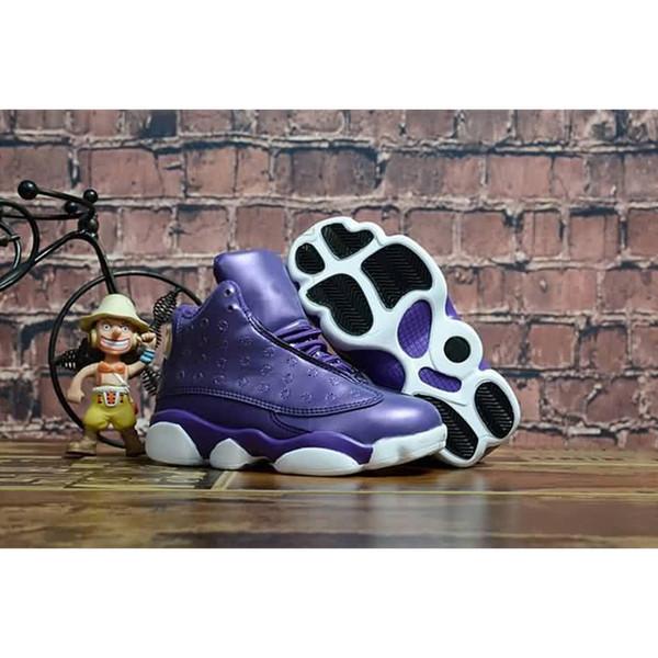 En Kaliteli Yeni Çocuklar 13 s Basketbol Ayakkabı 13 Phantom Kaptan Amerika Barons Irtifa Toddler Çocuk Boy Kız Spor Sneakers