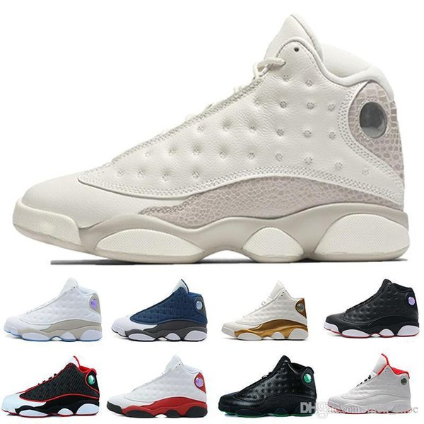 Cheap New 13 New Hot 13s mens basketball shoes Hyper Royal Flints Bred Brown He Got Game sneakers women sports trainers running shoes for