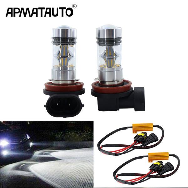 Canbus H8 H11 Led Bulb 75w White For Sharp Chips Fog Lights Car Lamp Auto Light Bulbs For E39 325 328 M Mini Sport Best Fog Lights For Cars Best Fog