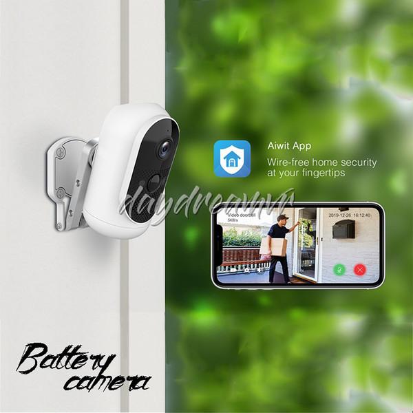 Eken Argus 1080P Full HD перезаряжаемые Открытые батарейки IP65 Водонепроницаемого WiFi IP Security Camera магазина App управление мониторингом Дешевого