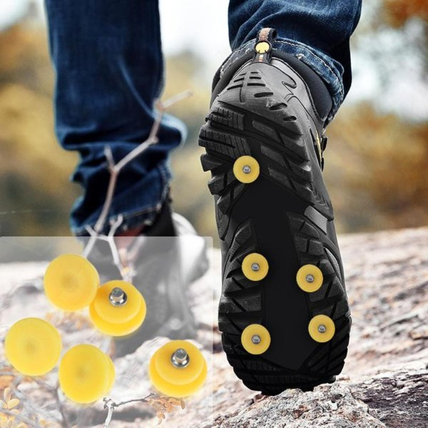 Outdoor Teeth Climbing Ice Snow Crampons Shoe Cover For Climbing Travel