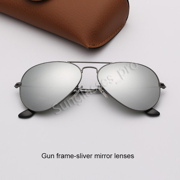 Silah çerçevesi-şerit ayna lensleri