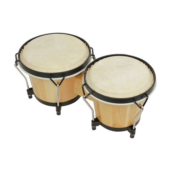 best selling Wooden African Bongos Drum Percussion Musical Instruments Early Learning Educational Toys for Percussion Instruments Parts