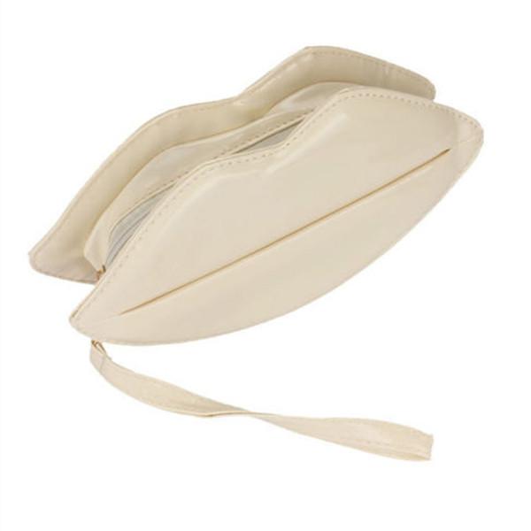 FGGS Hot Big Lips Women's Evening Party Clutch Hand Bag Purse Main Color: Black