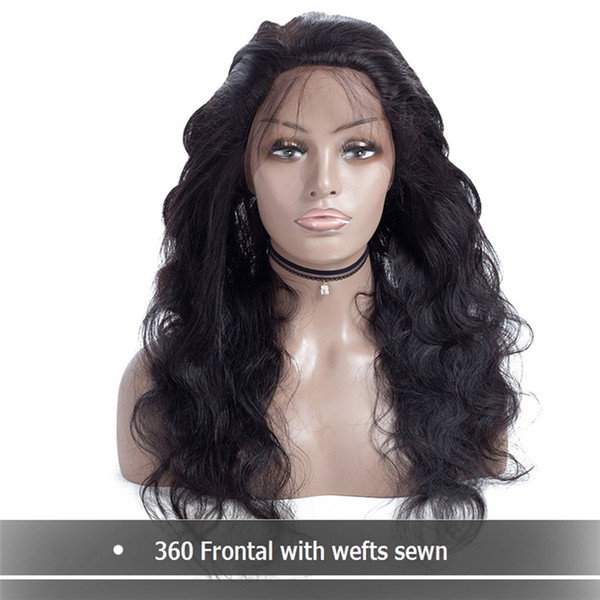 Malaysia Full Density 360 Lace Frontal Wig Peruvian Body Wave Wigs 360 Lace Front Human Hair Wigs With Baby Hair For Black Women