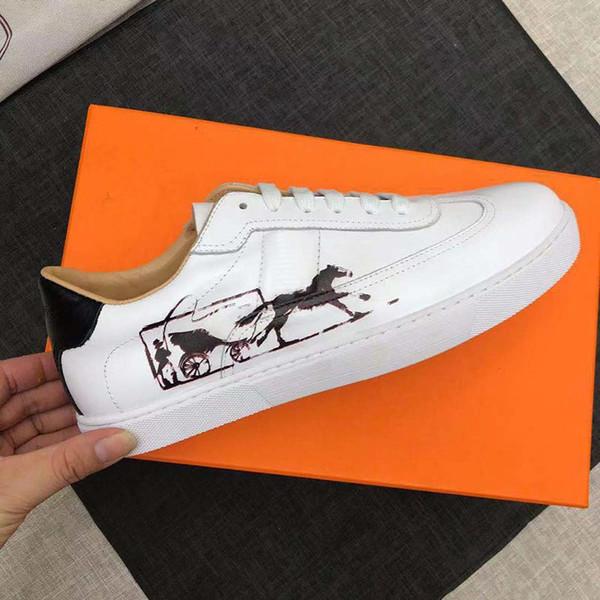 Scarpe da stilista forestale più veloci Scarpe da uomo bianche di alta qualità da donna Scarpe da ginnastica in vera pelle Scarpe casual di lusso Scarpe con stampa 3D di animali parigi
