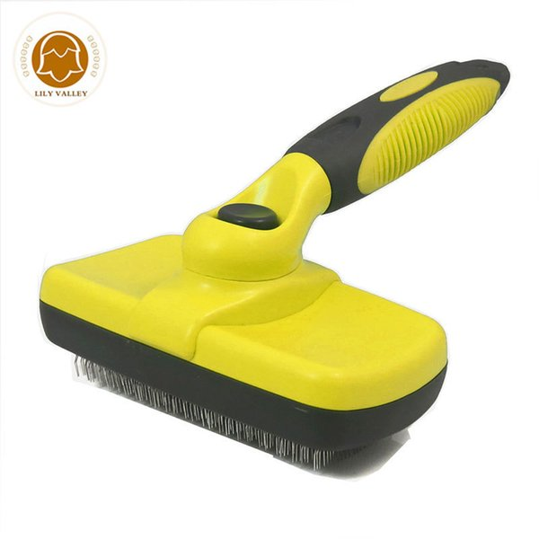 Grooming Brush Pet Deshedding Tool For Dogs Pets Slicker Brush Cat Dog Comb Brush Glove For Removing Hair From Domestic Animals J190717