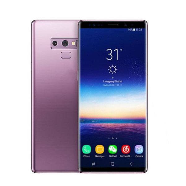 Goophone note 9 1 Ram 4/8G Rom smartphones 6.2inch Android 7.0 dual sim shown 128G ROM 4G LTE cell phones