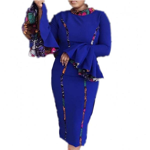 Robes Africaines pour les femmes Promotion Robe Africaine 2019 Robe Sexy Gaine Africaine Nouveau Vêtements Femme Dashiki Robe Pour Dame