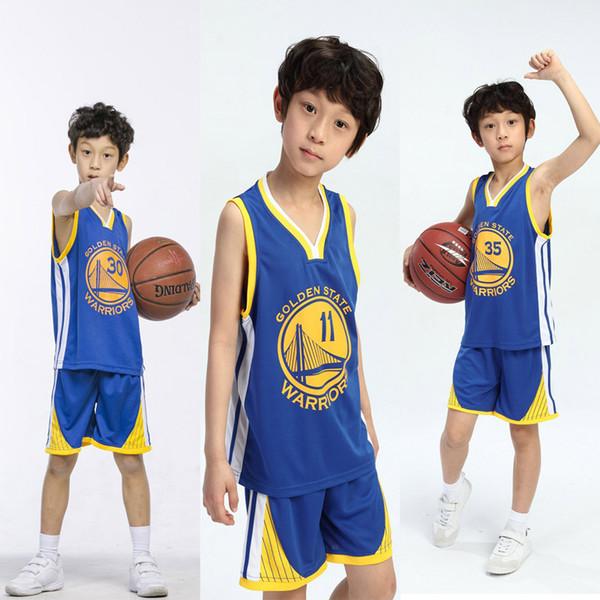 Оптовая продажа Американский баскетбол 11 #, 30 #, 35 # супер звезда баскетбола на заказ баскетбол одежда спортивная одежда на открытом воздухе для больших детей