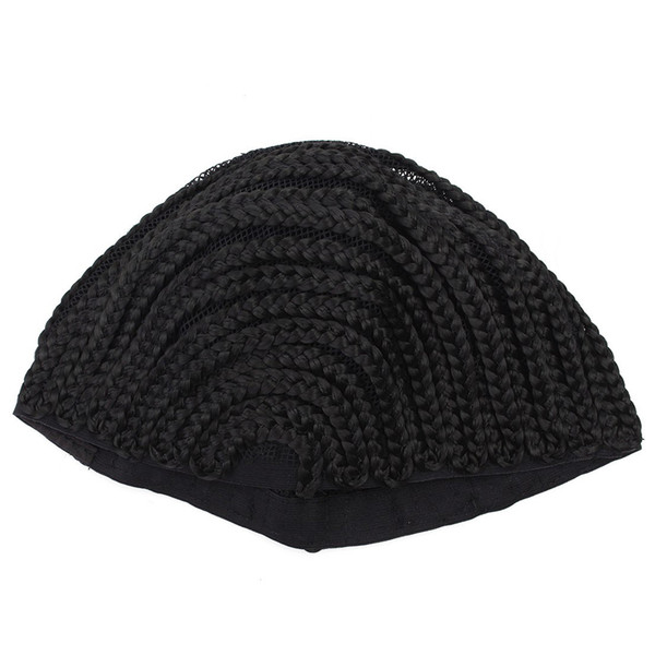 OLD STREET Cornrows Cap For Easier Sew In Braided Wig Caps For Making Wig Glueless Hair Net Liner Crochet Wig Caps(S/M/L)