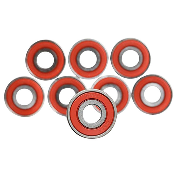 10Pcs 608 ABEC-11 Skateboard Scooter No Noise Oil Lubrication Smooth Plate Scooter Inline Pulley Bearing Accessories