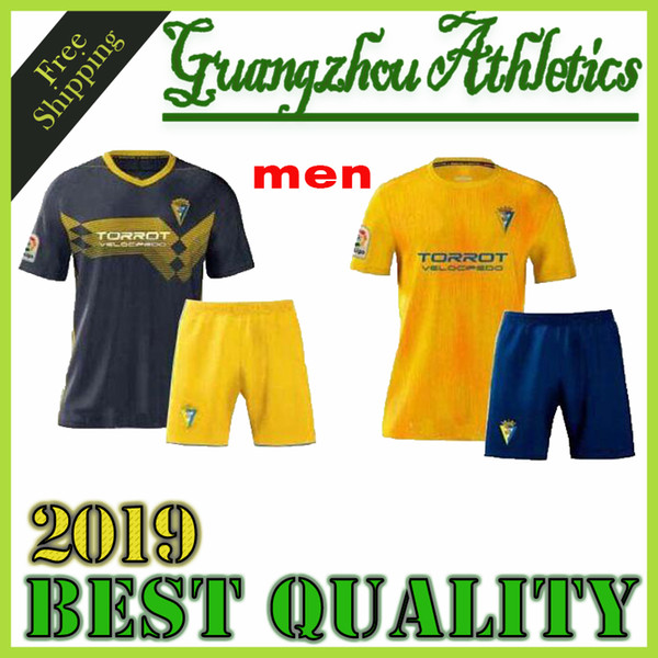 top popular men kit 19 20 Cadiz soccer jerseys 2019 2020 home away camisetas de fútbol Fernández Jovanovic Carmona Garrido Akapo football shirts 2019