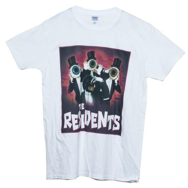 Art Avant Garde Les résidents T-shirt Bruit de punk rock Graphic Tee Hommes Femmes