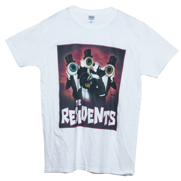 Art Avant Garde The Residents Camiseta Ruído do punk rock T gráfico Homens Mulheres