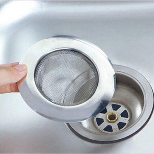 Stainless Steel Kitchen Dining Bar Supplies Straines Colanders Bathroom Bathtub Toilet Wash Basin Shower Home Use Gadgets